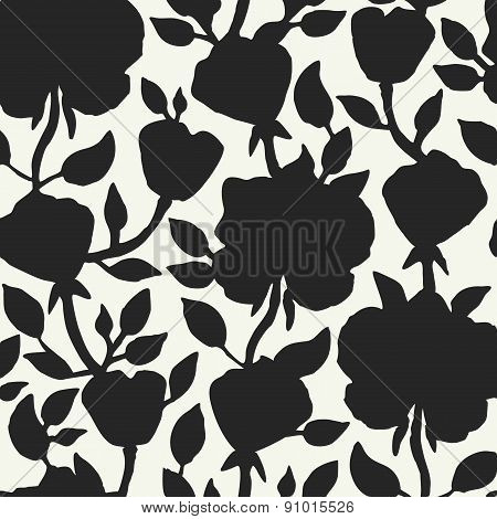 Floral seamless pattern. Vector illustration for beautiful design