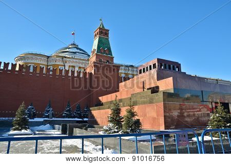 Moscow Kremlin And The Red Square