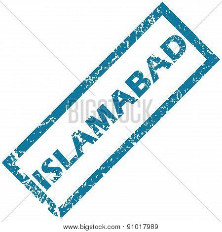 Islambad rubber stamp