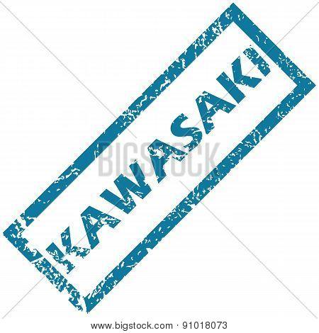 Kawasaki rubber stamp