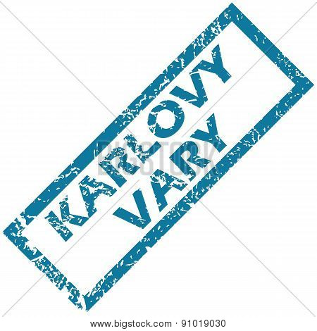Karlovy Vary rubber stamp