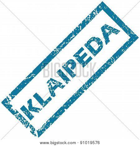 Klaipeda rubber stamp