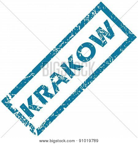 Krakow rubber stamp