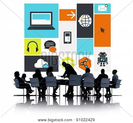 Computer Cloud Computing Storage Media Digital Concept