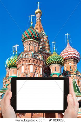 Tourist Photographs Of Saint Basil's Cathedral