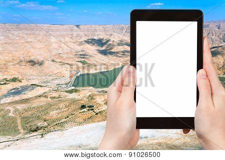 Photo Of Valley Of Wadi Al Mujib River, Jordan