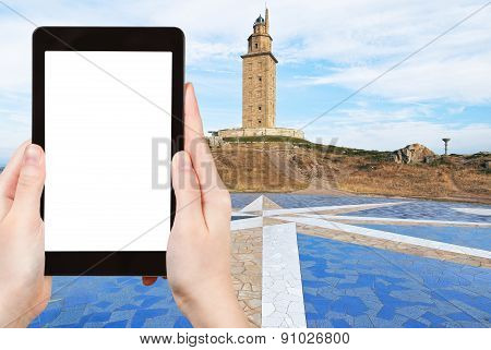 Photo Of Lighthouse Tower Of Hercules, Galicia