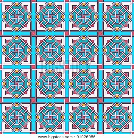 Tangled Modern Pattern