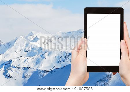 Photo Of Snow Mountains In Paradiski Skiing Region