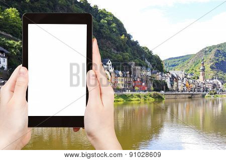Tourist Photographs Of Cochem Town On Moselle