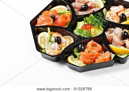 Buffet Box Catering With Seafood