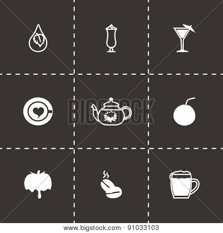 Vector Beverages icon set