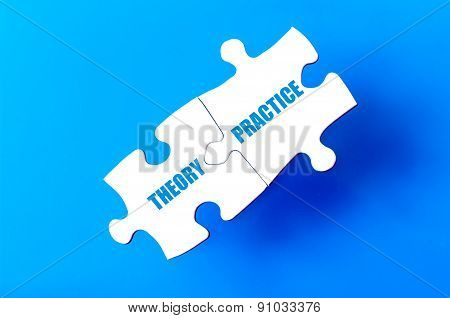 Connected Puzzle Pieces With Words Theory And Practice