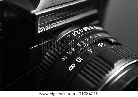 Old film camera