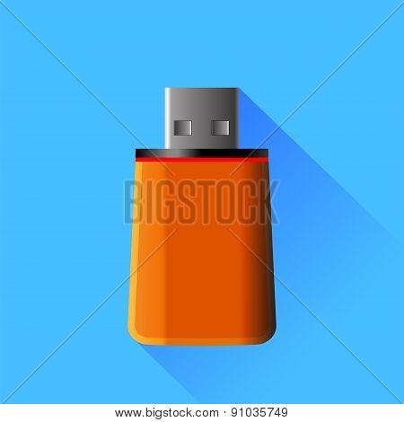 Orange  Memory Stick