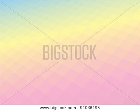Modern Light Pastel Geometric Tilt Background
