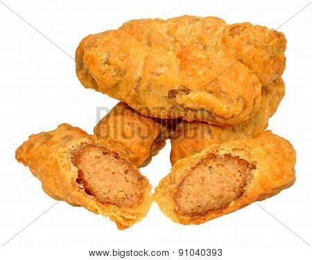 Battered Sausages