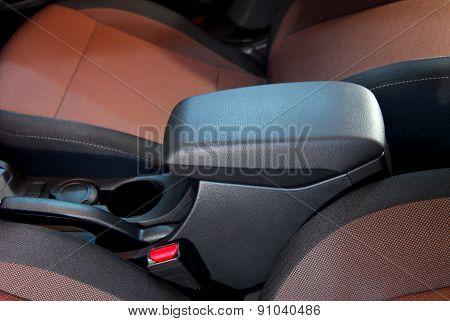 armrest of the car
