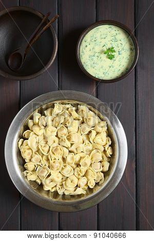 Cooked Tortellini