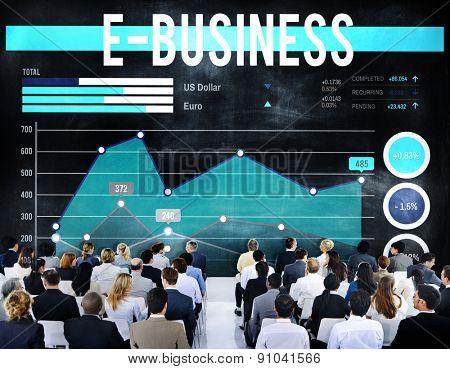 E-business Online Technology Marketing Business Concept