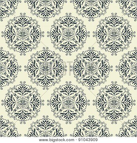 vintage ornaments pattern