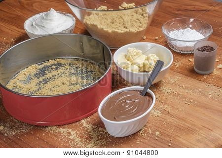 Different Ingredients For A Cake