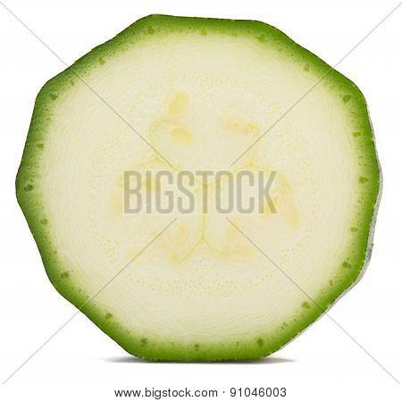 slice of zucchini