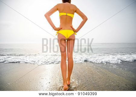 Sexy woman on the beach