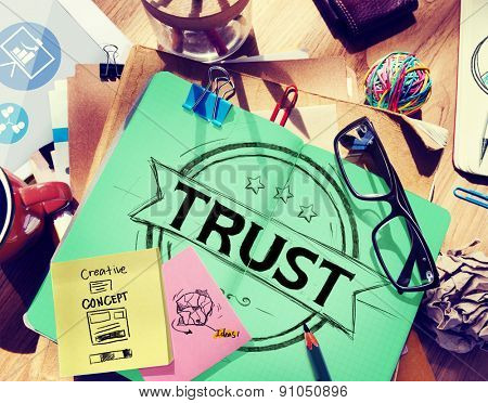 Trust Belief Faithfulness Honest Honorable Concept