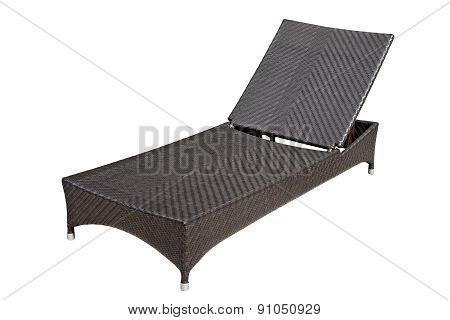 Woven Wood Sunbed