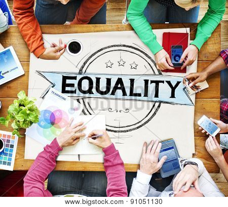 Equality Balance Discrimination Equal Moral Concept