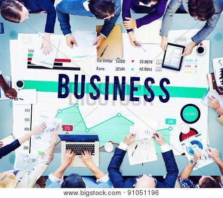 Business Marketing Strategy Organization Concept