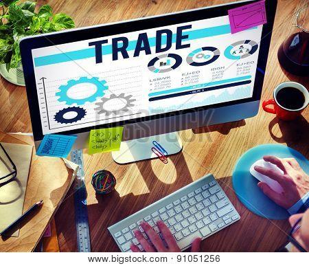 Trade Merchandise Import Export Commerce Concept