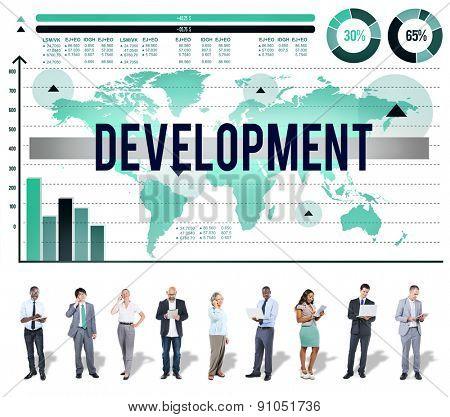 Development Growth Improvement Management Business Concept