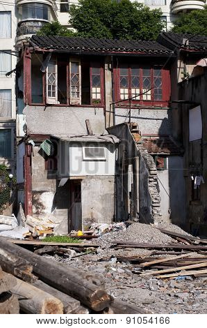 Building Demolition In Shanghai