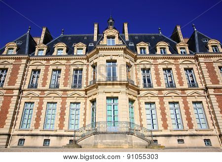 Chateau De Sceaux, Grand Country House In Park Of Sceaux, Hauts-de-seine, Not Far From Paris, France
