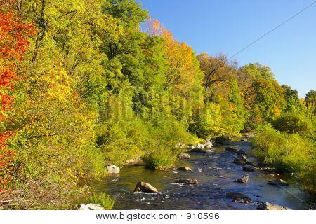 Pequeño río Schuylkill