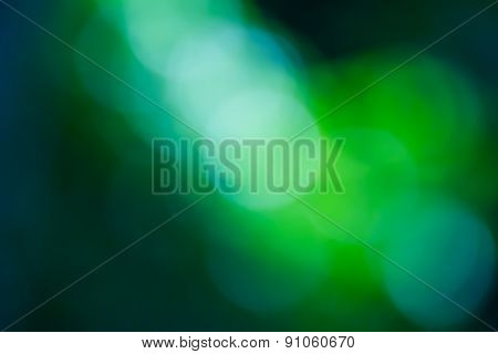Blurred Light  Bokeh Abstract Light Background