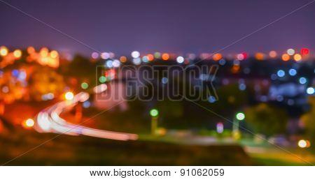 Blur Image Of Street