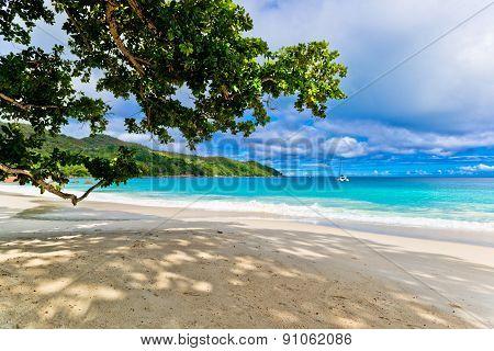 Anse Lasio beach, Praslin island