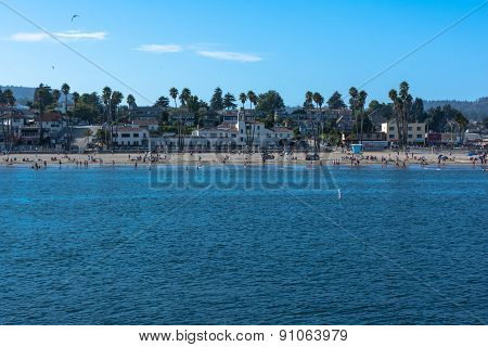 Santa Cruz Beach, California