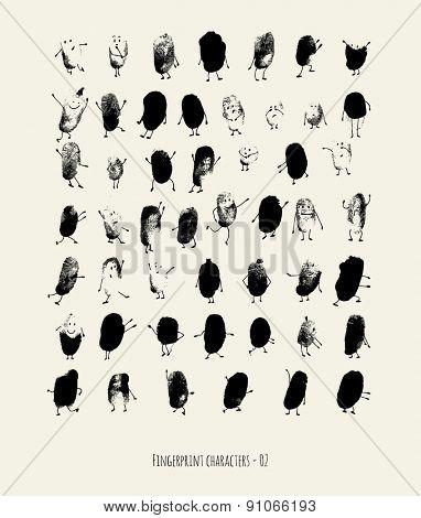 Fingerprint characters - 02