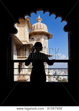 Tourist In Rajasthan City Palace
