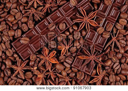 Coffee, Chocolate And Star Anise