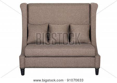 Beige Sofa From Impressive Fabric