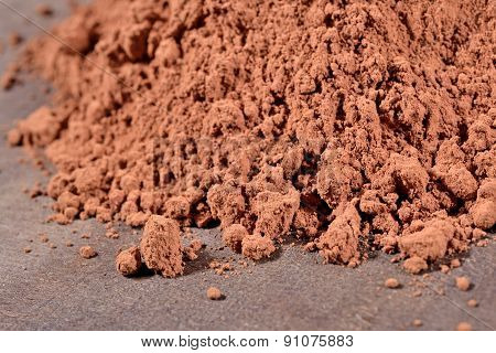 Heap Of Cocoa Powder