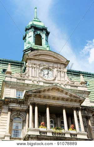 Montreal City Hall In Canada