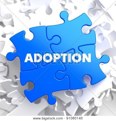 Adoption on Blue Puzzle.