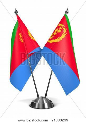 Eritrea - Miniature Flags.