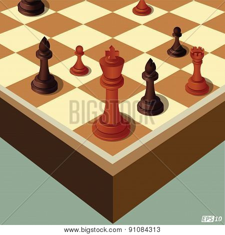 Chess Pieces Or Decision Making